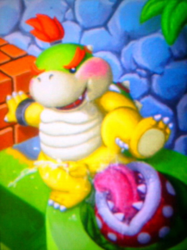 a with bowser jr day A story with a known end