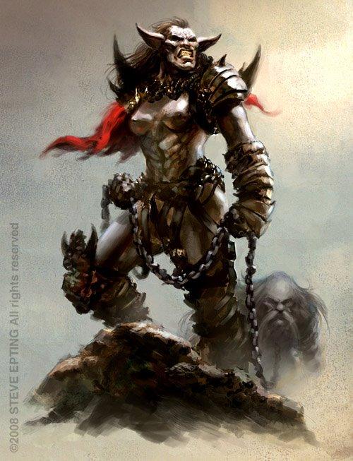 horn sin divinity orc original League of legends vi