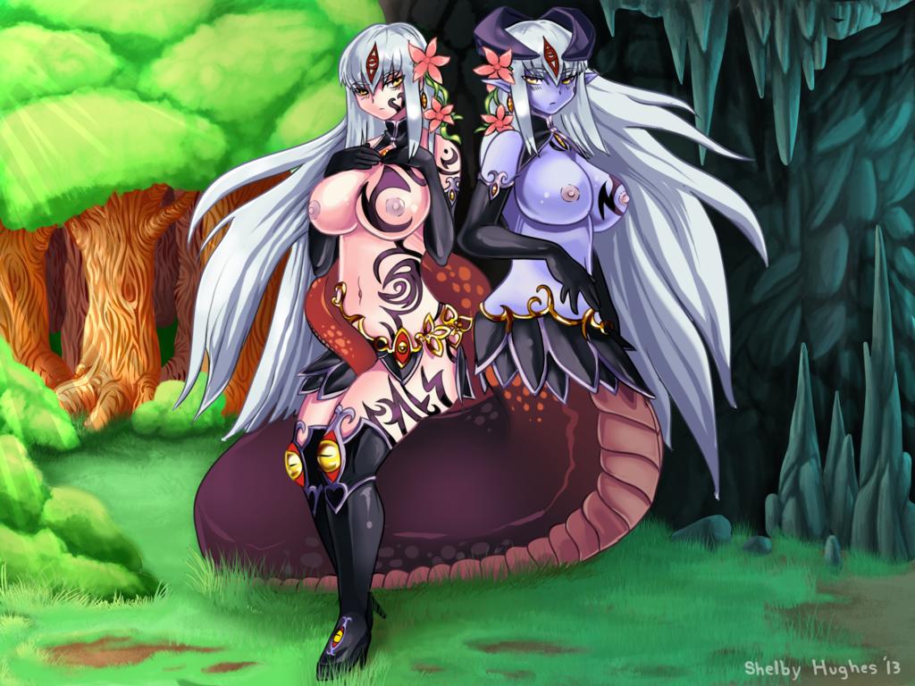girl tiny quest monster lamia The legend of korra varrick