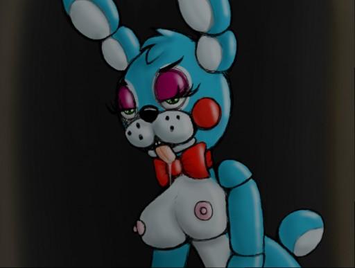 bonnie fnaf bonnie x toy Gantu from lilo and stitch