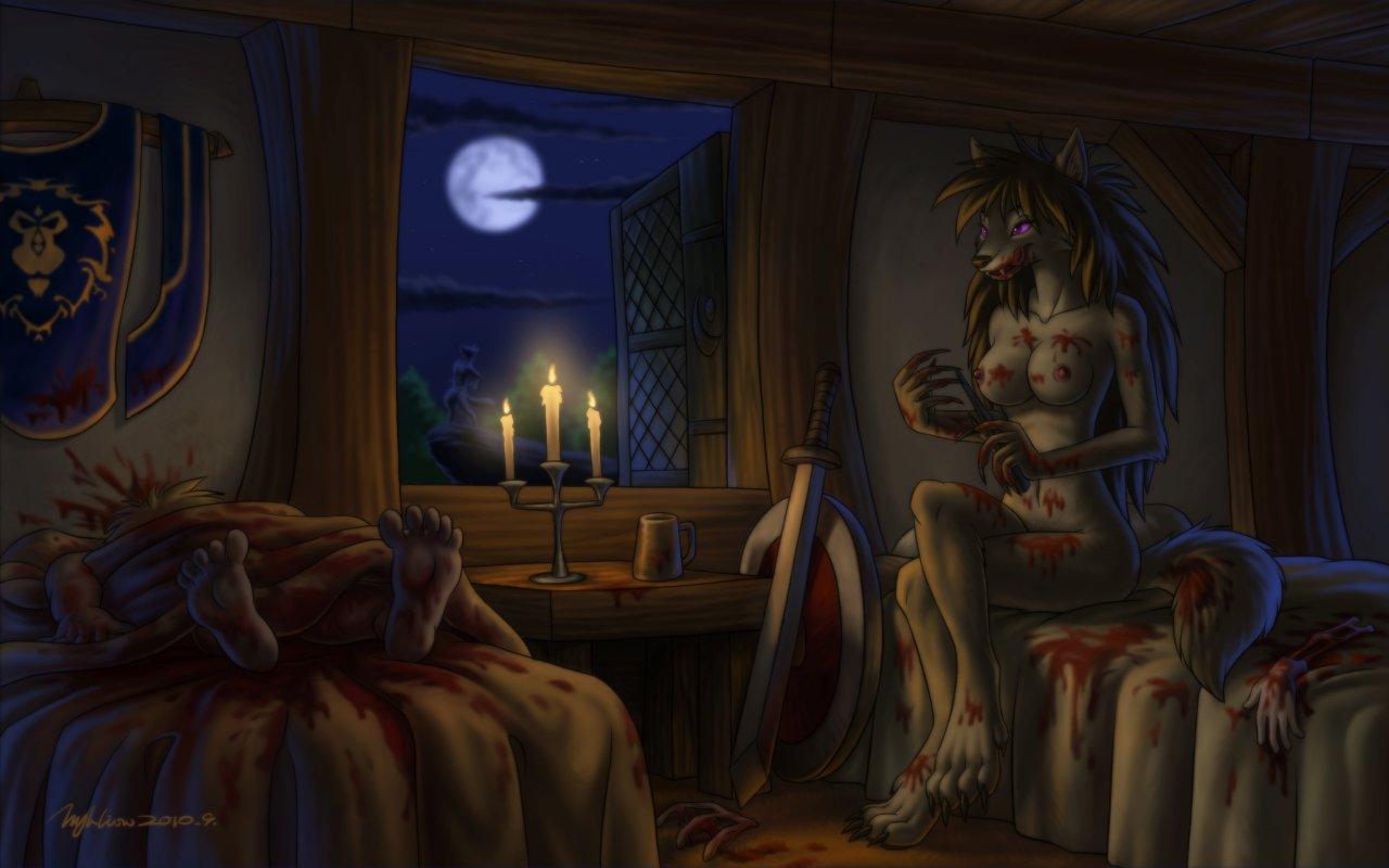 moon full woman evil night Resident evil 5 sheva nude mod