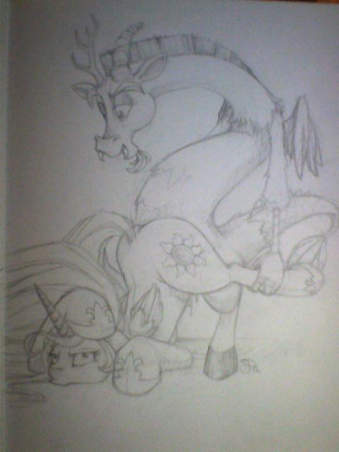 little coloratura countess my pony Maron from dragon ball z