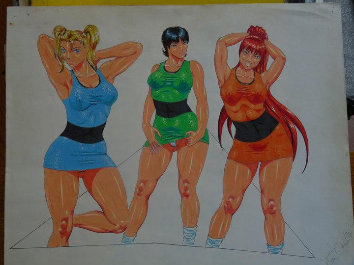 girls bellum sara powerpuff ms Fate/stay night arthur