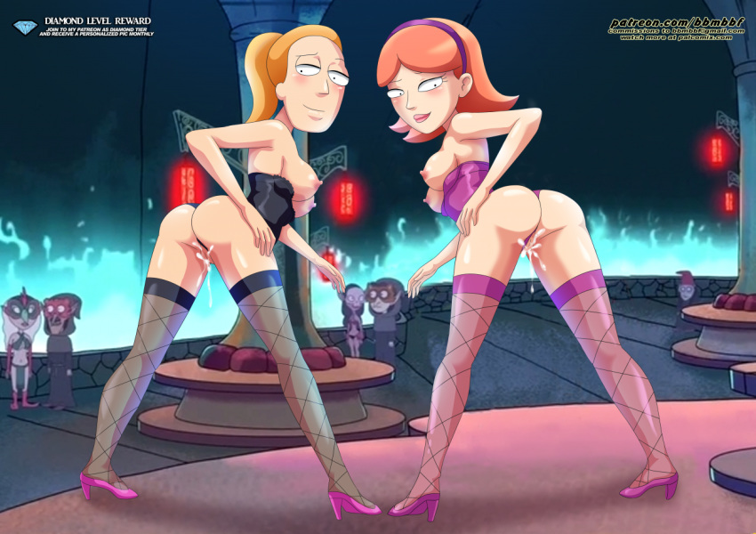 naked rick and morty jessica Five nights at anime foxy