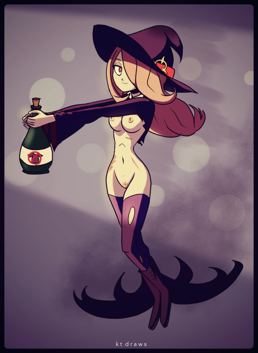 fanart witch amanda little academia Wii fit trainer rule 63