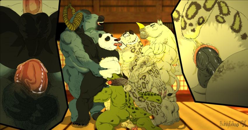 tigress fu kung nude panda Re-sublimity-kun