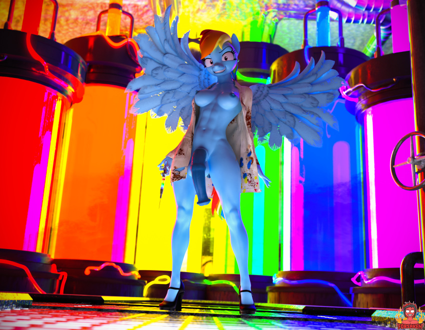 mlp dash rainbow soarin and Asmodeus sin nanatsu no taizai
