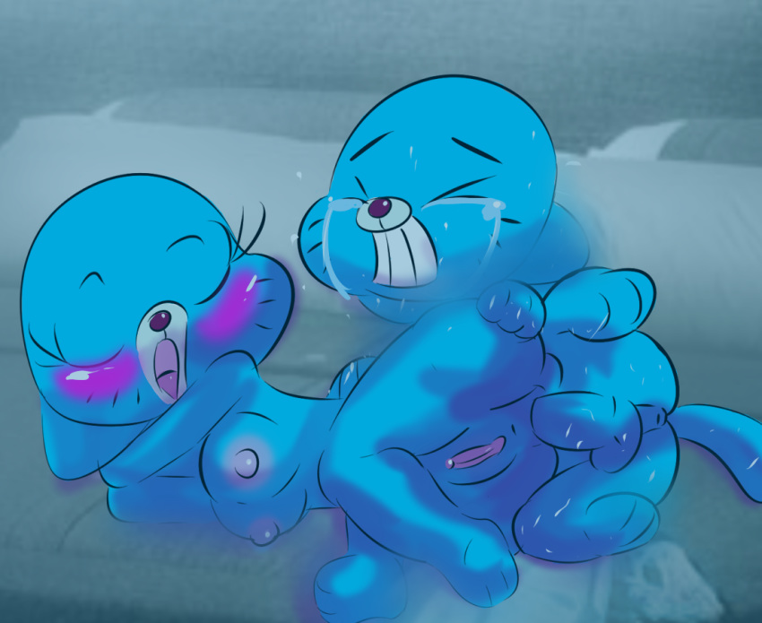 gumball world of Rabies interracial pool party 420