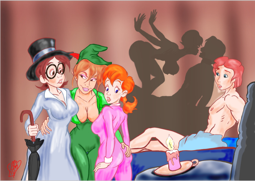 and wendy porn peter pan Lilo and stitch nani nude