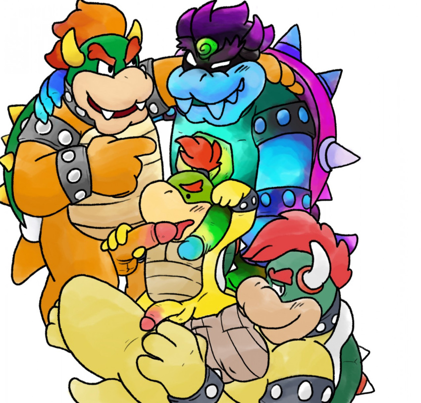 with bowser jr a day Bound and gagged with duct tape