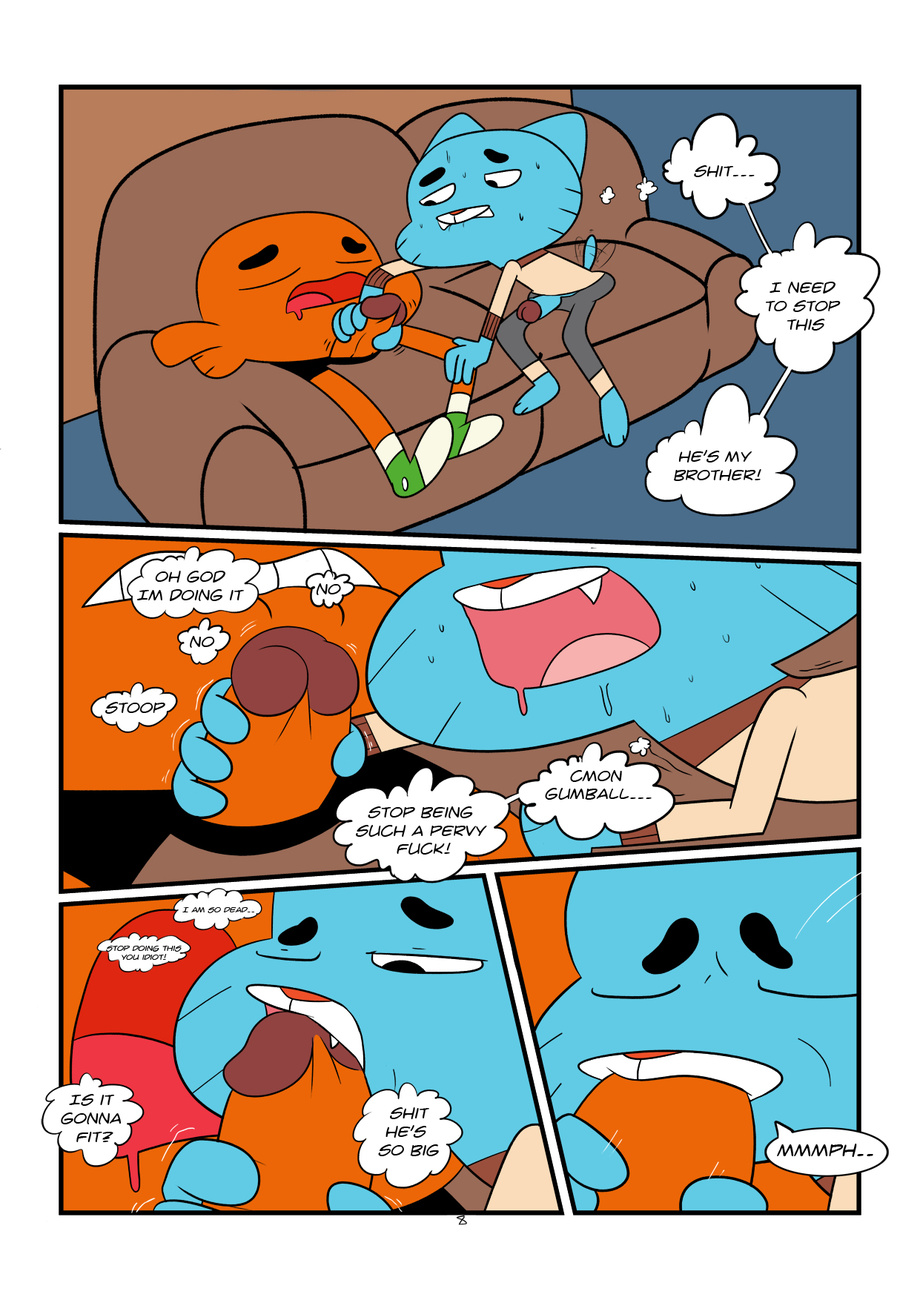 world amazing porn comics of gay the gumball Don't mess with me, nagatoro