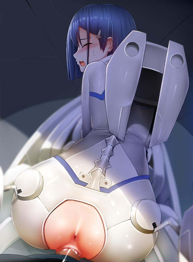 franxx uncensored darling the in Male human x female furry